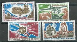 Congo Poste Aérienne YT N°101/104 Précurseurs De L'espace Neuf ** - Congo - Brazzaville