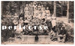 54  Baccarat  Fontaine Du Parc  Groupe D'éléves - Baccarat