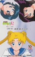 RARE Télécarte Japon / 110-011 - MANGA - SAILORMOON - ANIME TV Television Japan Phonecard - MOVIC - 10199 - Comics