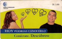TARJETA TELEFONICA DE PANAMA (CHIP). PAN-C&W-61 (045) - Panama