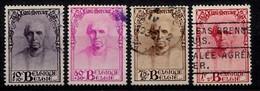 Belqique 1932  Mi.Nr: 333-334-335-336 Kardinal Désiré Mercier  Oblitèré / Used / Gebruikt - Belgien