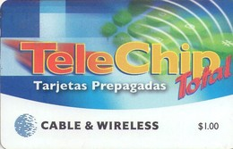 TARJETA TELEFONICA DE PANAMA (PREPAGO). PAN-C&W-107B (014) - Panamá