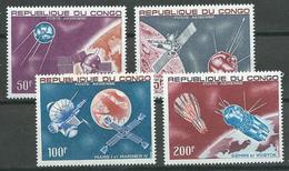 Congo Poste Aérienne YT N°55/58 Conquete De L'espace Neuf ** - Congo - Brazzaville