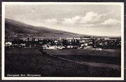 KOSOVSKA MITROVICA - PANORAMA, Posted In 1936. Condition, See The Scans. - Kosovo