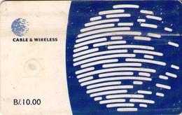 TARJETA TELEFONICA DE PANAMA (CHIP). PAN-C&W-65 (043) - Panamá
