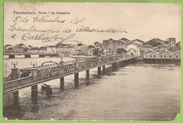 Pernambuco - Ponte 7 De Setembro - Recife - Brasil - Recife