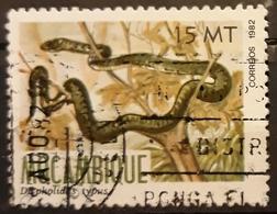 MOZAMBIQUE 1982 Reptiles. USADO - USED. - Mozambique