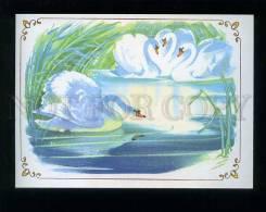 180544 Ugly Duckling Andersen Swans By Kanevskiy Old Postcard - Illustrators & Photographers