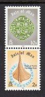 GB ISLE OF MAN IOM - 1986 BOOKLET STAMPS SET (2V) FINE MNH ** SG 315-316 - Isle Of Man