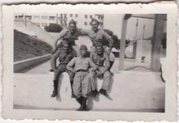 PORTUGAL PHOTO PHOTOGRAPH - PHOTOGRAPHY   - MILITAR - POLICE   -  4,8 Cm X 7 Cm - War, Military