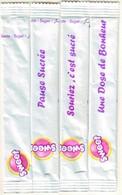 Sucre - 4 Sticks De Sucre Vides -  Sweet Général Unit Algérie. - Sugars