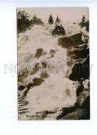 186159 Kazakhstan Alma-Ata Waterfall Vintage Photo Postcard - Kazakhstan