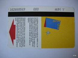 BELGIUM 2014. Discover Brussels 24h. Travel Ticket MIVB. Used. - Bus