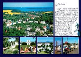 73234158 Putbus_Ruegen Fliegeraufnahme Circus Schloss Putbus Ruegen - Alemania