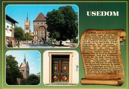 73234196 Usedom Marienkirche Stadttor Chronik Usedom - Usedom