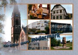 73234212 Roedermark Kirche Fachwerkhaus Denkmal Brunnen Roedermark - Roedermark