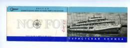 189282 USSR RUSSIA Travel Book Steamer PLEKHANOV 1974 Year - Russia