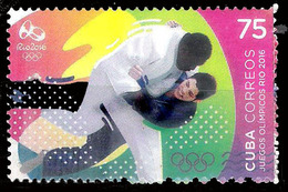 422  Judo - 2016 - MNH - Free Shipping - 1,50 - Judo