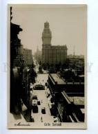 192204 Uruguay MONTOVIDEO Calle Sarandi Vintage Photo Postcard - Uruguay