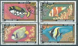 WALLIS FUTUNA - 1978 - USED/OBLIT. - FAUNE POISSONS FISH - Yv PA 76-79 - Lot 16803 - Oblitérés
