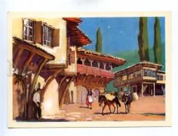 195226 Type Of Turkish House By Pavlinov Old Postcard - Illustrators & Photographers