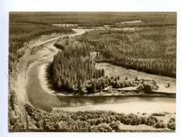 195343 Russia Yakutia River Valley Nui Old Postcard - Rusland