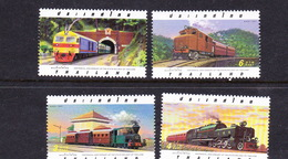 Thailand SG 1921-1924 1997 Centennial Anniversary Of Railways  MNH - Thailand