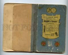 197141 RUSSIA Calendar 1914 Diary Advertising Ellers Vintage - Calendars