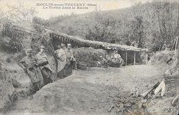 Moulin-sous-Touvent (Oise) - Le Fortin Dans Le Ravin En 1917, Tranchées, Militaires - Phototypie Desaix - France
