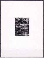 Photo Essay Germany Sc782 Prevent Forest Fires, Fire, Trees, Nature Protection, Unissued, Essai - Pompieri