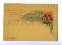 203294 BRAZIL Casa Da Moeda PETROPOLIS 1891 Year Postcard - Belém