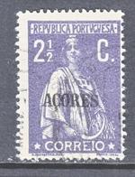 Azores  168     (o)  1917-21 ISSUE  PERF.  15 X 14 - Açores