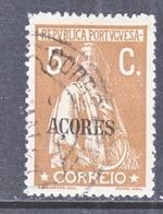 Azores  186     (o)  1921 ISSUE  PERF.  15 X 14 - Açores