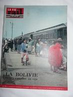 Vie Du Rail 878 1963 Bolivie Toulouse Potosi La Paz  Beni Coroico Sucre Ouaqui Tiahuanco Titicaca Tunnel Sous Manche - Trains