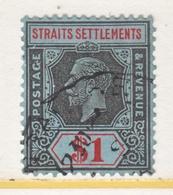 STRAITS  SETTLEMENTS  199   (o)  Wmk. 4 - Straits Settlements