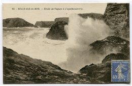 CPA - Carte Postale - France - Belle Ile En Mer - Etude De Vagues à L'Apothicairerie - 1930 (CP3350) - Belle Ile En Mer