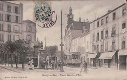 3590A   NOISY LE SEC ??????????????  1908 TIMBRE ECRITE - France