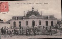 3590A  ST GEORGES  1908 TIMBRE ECRITE - Ile D'Oléron