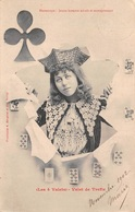 Les 4 Valets - Valet De Trefle - Horoscope - Jeux De Cartes Ed. Bergeret - Cartes à Jouer