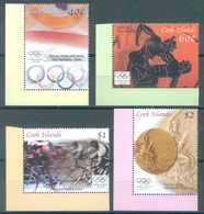 COOK  - 2004 - MNH/** - OLYMPIC GAMES ATHENS - Yv 1220-1223 - Lot 16810 - Cook