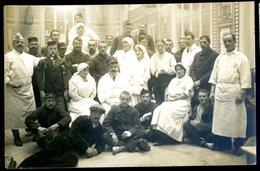 Cpa Carte Photo Du 14 Deauville Hôpital Temporaire N° 38     Avril18-25 - Deauville