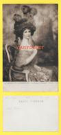 CPA MUSEE LUXEMBOURG -  DAME A L EVENTAIL - JEUNE FEMME - FAIVRE - Peintures & Tableaux