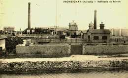 CPA  (34)    FRONTIGNAN  -   Raffinerie De Pétrole - Frontignan