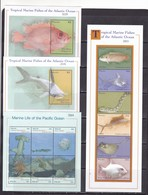 Palau 2000 Fish Marine Life 2klb+2s/s  MNH - Vissen