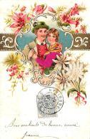 [DC11914] CPA - BELLISSIMA CARTOLINA - IN RILIEVO - PERFETTA - Viaggiata 1904 - Old Postcard - Cartoline