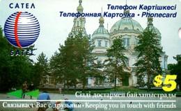 *KAZAKISTAN* - Scheda Usata - Kazakhstan
