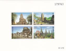 Thailand SS 85 1994 Thai Heritage Conservation, Souvenir Sheet ,mint Never Hinged - Thailand