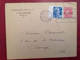 Paris Tourisme Boumard - Poststempel (Briefe)
