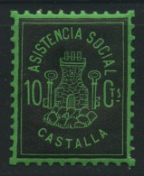 Guerra Civil . Asistencia Social Castalla . - Viñetas De La Guerra Civil