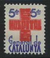 Guerra Civil . Hospital General De Catalunya . - Viñetas De La Guerra Civil
